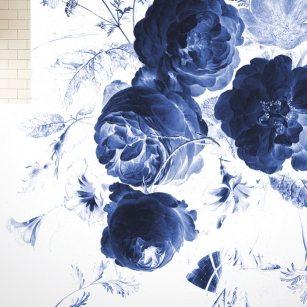 KEK-Tapete-Amsterdam-Blumen-blau