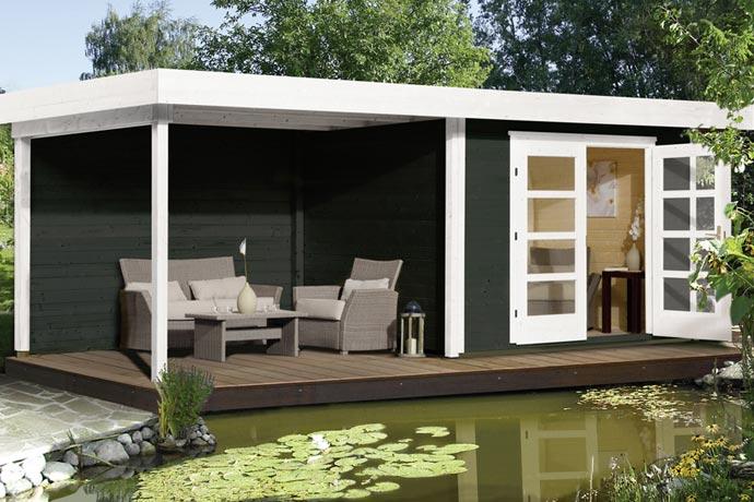 ein gartenhaus wenn dann jetzt kwp baumarkt. Black Bedroom Furniture Sets. Home Design Ideas