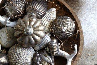 Baumkugel von Affari in antik silber kwp Baumarkt Hamburg Sasel