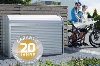 Biohort moderne Gerätehäuser aus Österreich kwp Baumarkt