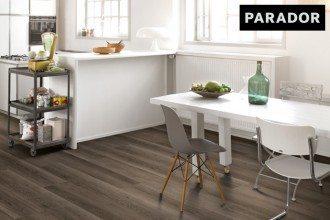 Parador Vinyl Classic 2050 Eiche Skyline grau Gebürstete Struktur kwp Baumarkt