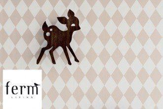 Ferm Living Harlequin Tapete Kids rosa bei kwp Baumarkt