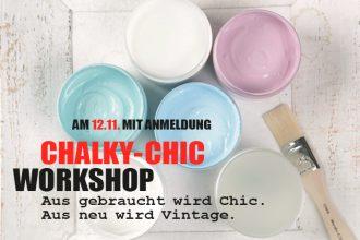 Chalky-Chic Workshop