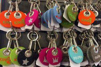 Schlüsselanhänger von Metz Textil Design