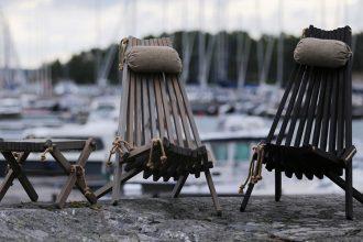 Beachrock EcoChair EcoFurn Produkte sind ideal für Innen-und Außenbereich, Sauna, Spa, Terrassen und Garten Kwp Baumarkt