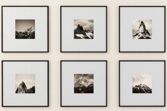 Bilder aufhaengen mit Zesa Klebenagel