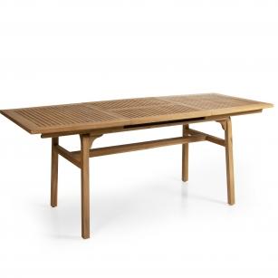 Brafab-Tisch-Volos-Teakholz-ausziehbar-80x73x130-180cm-20465-ausgezogen