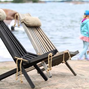 Eco Chair Pinie inkl. Leinenkissen