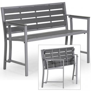 NEU-Sitzbank-klappbar-grau