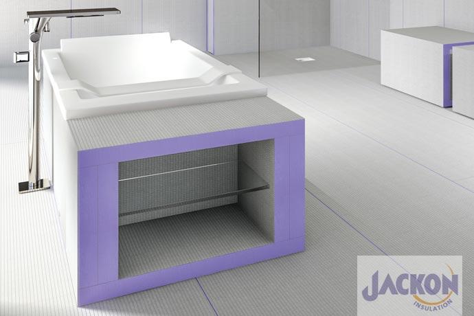 Jackboard Plano Bauplatten für den Badausbau bei kwp Baumarkt