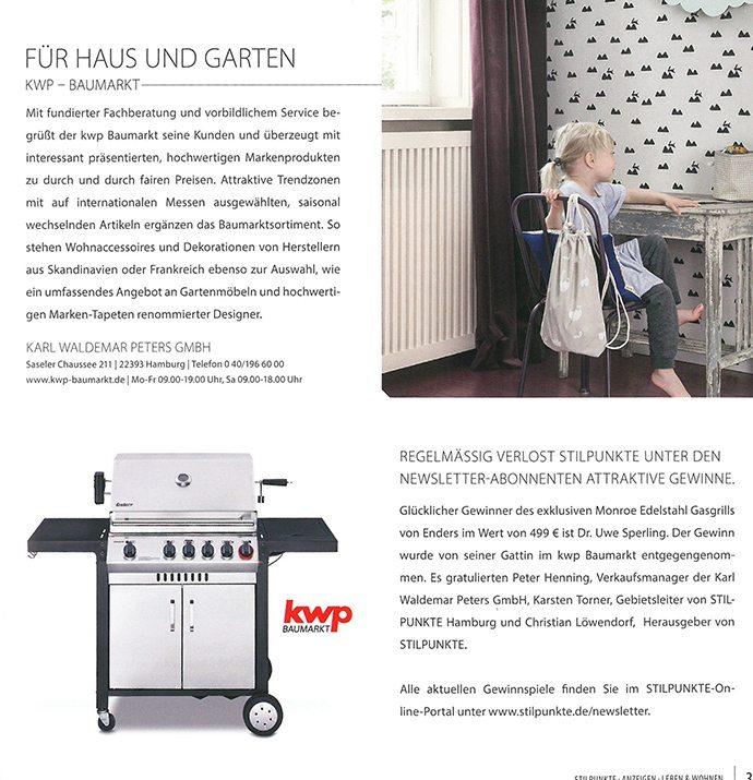 ee86e74f8ccabf kwp bei Stilpunkte Hamburg mit ferm Living Tapeten