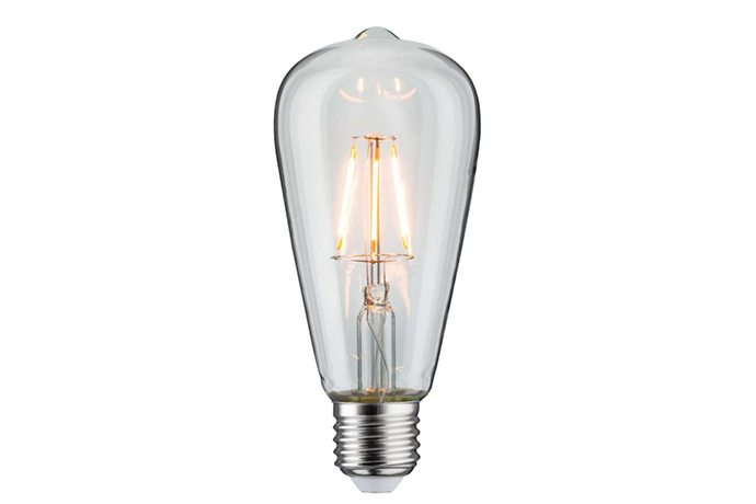 Paulmann LED Vintage Kolben, klar, Goldlicht, kwp Baumarkt