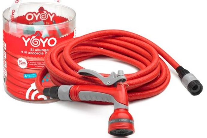 Yoyo, flexibler Gartenschlauch