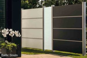 Sehr Elegant: HPL Platten Als Wind  Und Sichtschutz