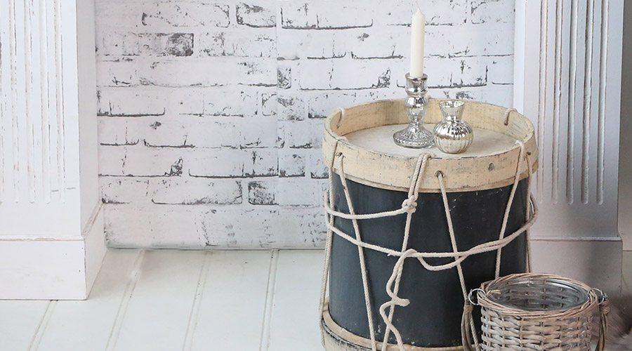 Chic Antique Trommel Deko