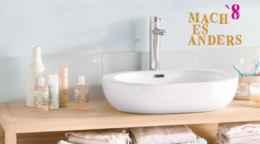 Mach es anders Hole dein Bad aus seinem Winterschlaf