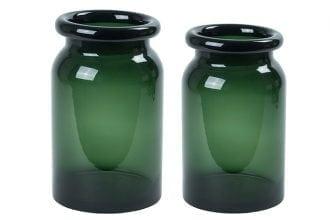 Speedtsberg Glasvase grün