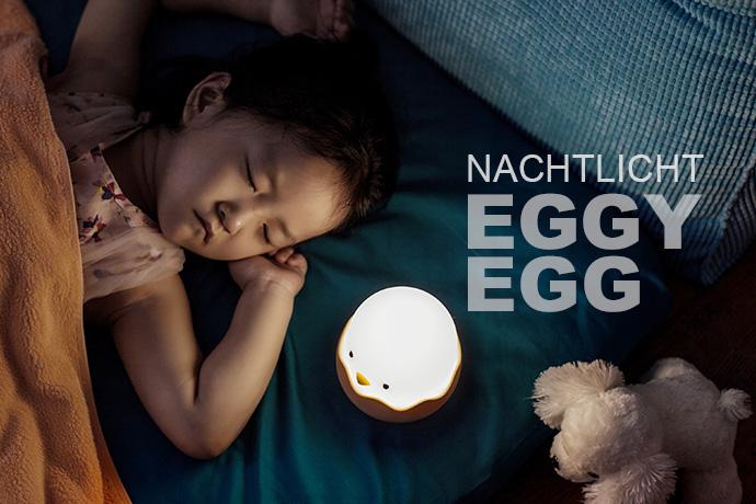 MEGALight LED Nachtlicht EGGY EGG dimmbar mit Akku