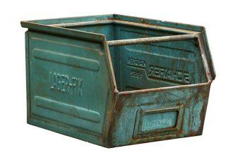 B-Green Ablage Kiste Vintage
