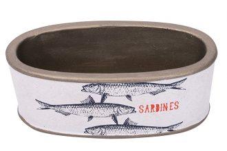 Blechdose Sardines aus Metall