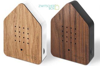 Zwitscherbox mit Natursounds