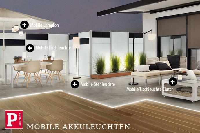 Paulmann Mobile Akkuleuchten