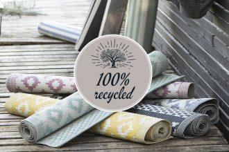 Ib Laursen Outdoor Teppich recyceltem Kunststoff