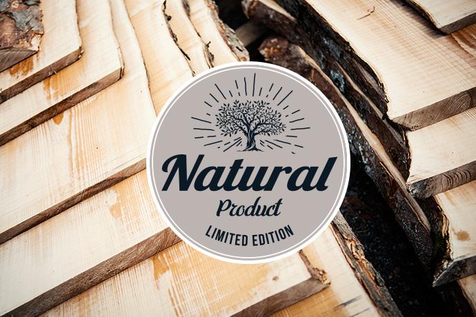 Regalbretter Eichenholz gesäumt