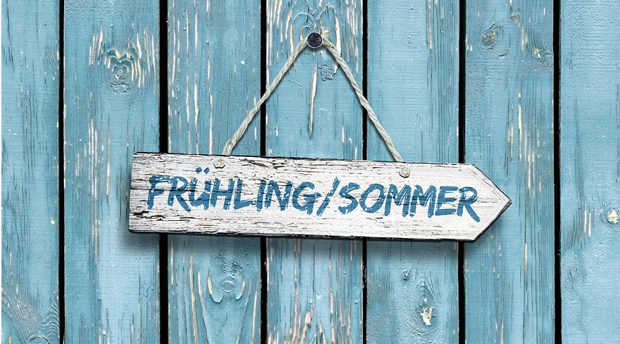 Gift Company Frühling Sommer Wandbrett