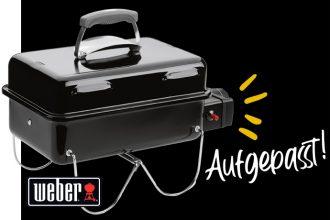 Weber Grill Verlosung für alle Newsletter Abonnenten